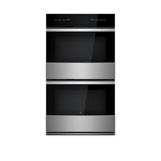 """Jenn-Air NOIR™ 30"""" Double Wall Oven with V2™ Vertical Dual-Fan Convection System"""
