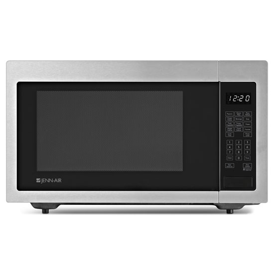 "Model: JMC1116AS | Jenn-Air Stainless Steel 22"" Built-In/Countertop Microwave Oven"