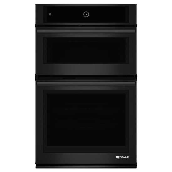"""Jenn-Air Black Floating Glass 27"""" Microwave/Wall Oven with MultiMode® Convection System"""