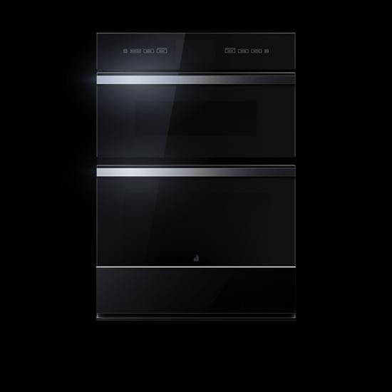 """Jenn-Air NOIR™ 30"""" Microwave/Wall Oven with V2™ Vertical Dual-Fan Convection"""