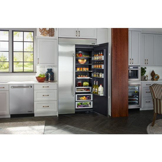"Model: JS42NXFXDE | Jenn-Air 42"" Built-In Side-by-Side Refrigerator"