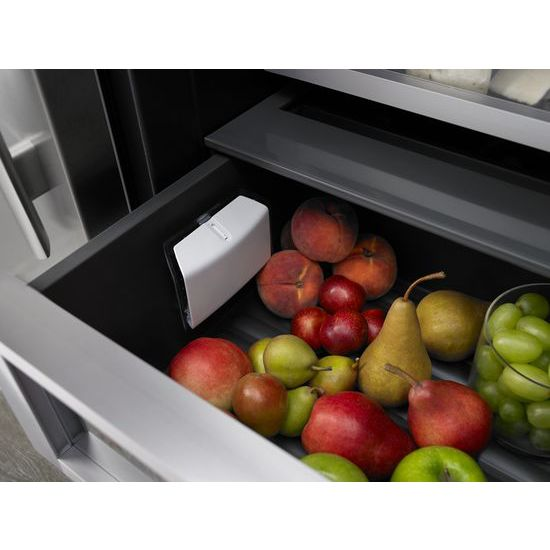 "Model: JS42SSDUDE | Jenn-Air 42"" Built-In Side-by-Side Refrigerator with Water Dispenser"