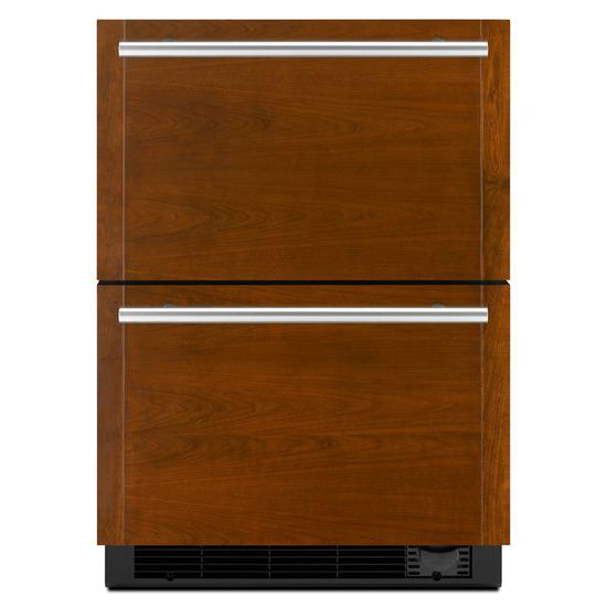 "Model: JUD24FCECX | Jenn-Air Panel-Ready 24"" Refrigerator/Freezer Drawers"