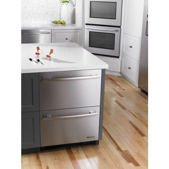 "Model: JUD24FCERS | Jenn-Air Euro-Style 24"" Refrigerator/Freezer Drawers"