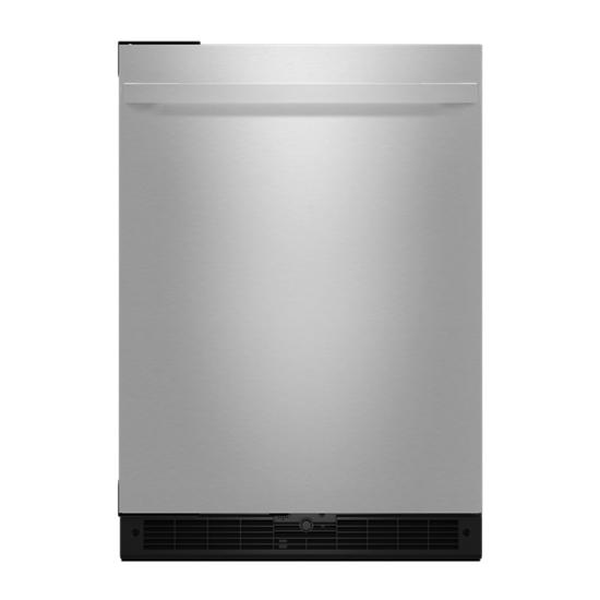 "Jenn-Air NOIR™ 24"" Under Counter Solid Door Refrigerator, Left Swing"