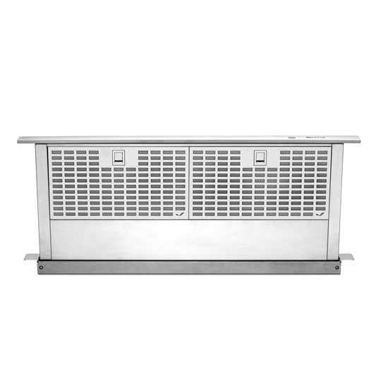 "Model: JXD7036YS | Jenn-Air Euro-Style Stainless 36"" Telescoping Downdraft Ventilation"