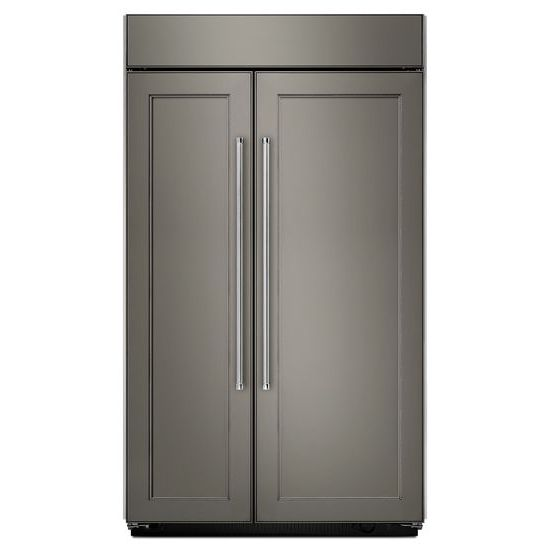 KitchenAid 30.0 cu. ft 48-Inch Width Built-In Side by Side Refrigerator