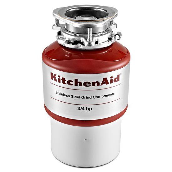 Model: KCDI075B | KitchenAid 3/4-Horsepower  Continuous Feed Food Waste Disposer