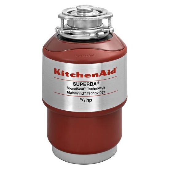 KitchenAid 3/4-Horsepower  Continuous Feed Food Waste Disposer