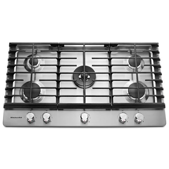 KitchenAid 36'' 5-Burner Gas Cooktop