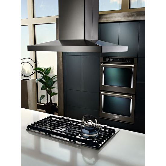 "Model: KCGS950ESS | KitchenAid 30"" 5-Burner Gas Cooktop with Griddle"