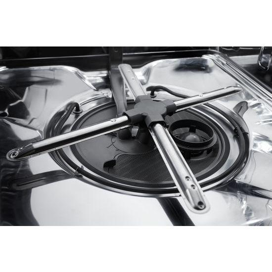 Model: KDPE234GBS | KitchenAid 46 DBA Dishwasher with Third Level Rack and PrintShield™ Finish, Pocket Handle