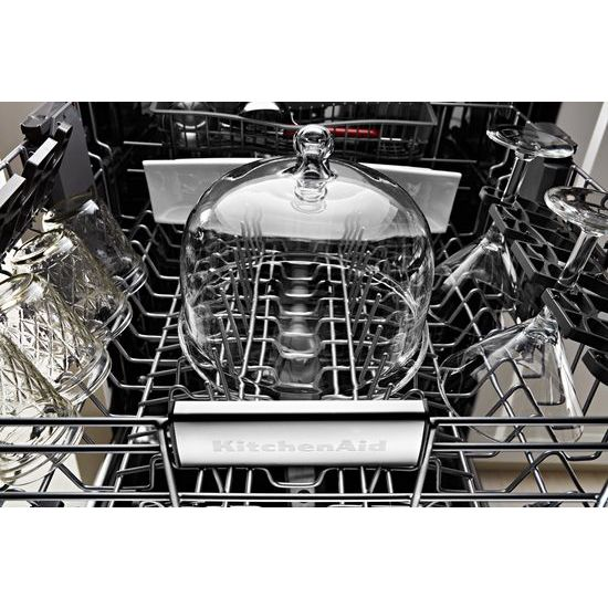 Model: KDPM354GBS | KitchenAid 44 DBA Dishwashers with Clean Water Wash System and PrintShield™ Finish, Pocket Handle