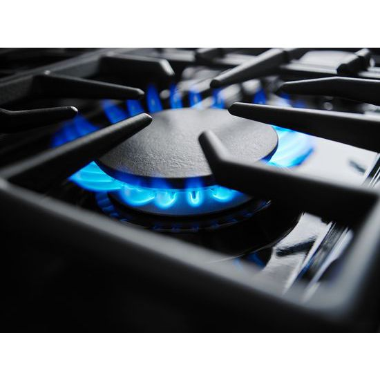 Model: KDRS467VSS | 36'' 6-Burner Dual Fuel Freestanding Range, Commercial-Style