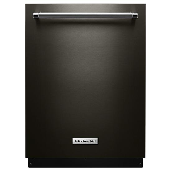 Model: KDTE334GBS | KitchenAid 39 DBA Dishwasher with Fan-Enabled ProDry™ System and PrintShield™ Finish
