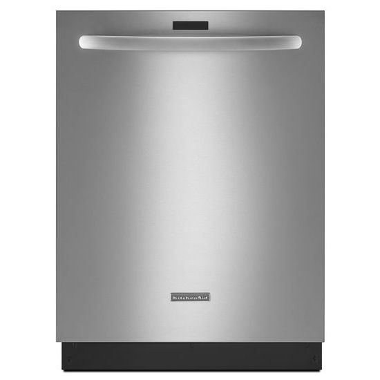 Model: KDTM354DSS | KitchenAid 43 dBA Dishwasher with Clean Water Wash System