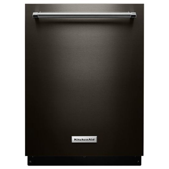 Model: KDTM354EBS | KitchenAid 44 dBA Dishwasher with Clean Water Wash System
