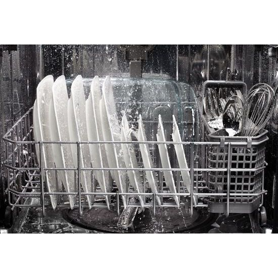 Model: KDTM354ESS | KitchenAid 44 dBA Dishwasher with Clean Water Wash System