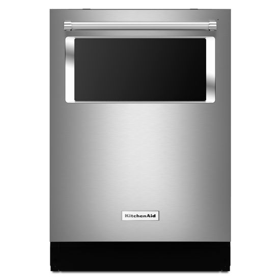 Model: KDTM384ESS | KitchenAid 44 dBA Dishwasher with Window and Lighted Interior