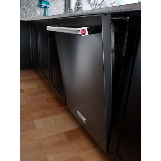 Model: KDTM404EBS | 44 dBA Dishwasher with Dynamic Wash Arms