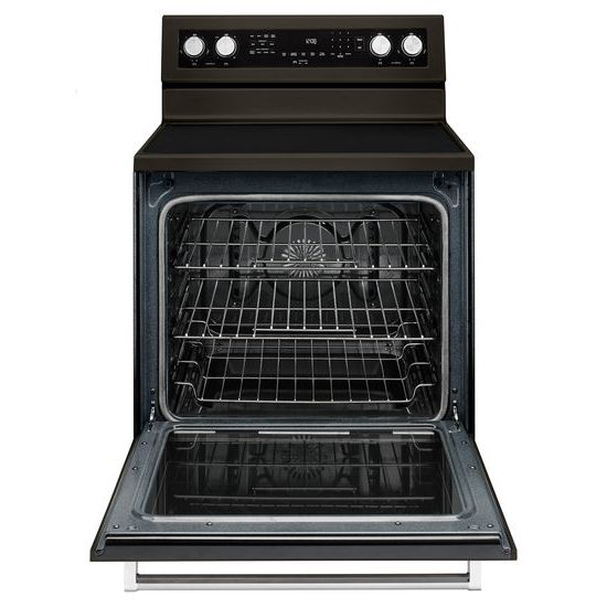 Model: KFEG500EBS | KitchenAid 30-Inch 5-Element Electric Convection Range