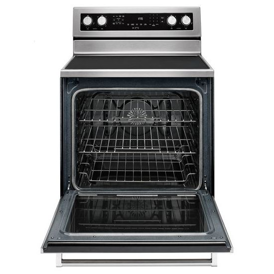 Model: KFEG500ESS | 30-Inch 5-Element Electric Convection Range