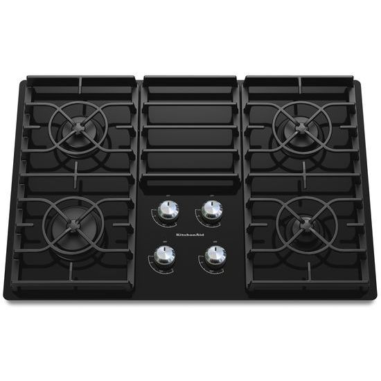 KitchenAid 30-Inch 4 Burner Gas Cooktop, Architect® Series II