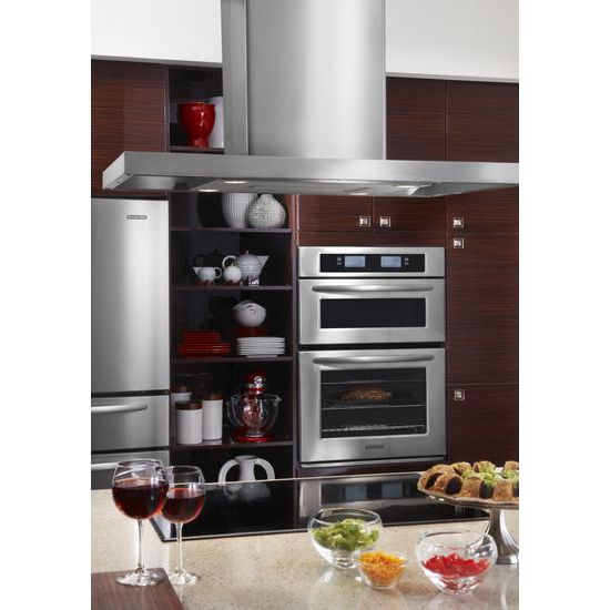 Model: KICU509XBL | KitchenAid 30-Inch 4 Element Induction Cooktop, Architect® Series II