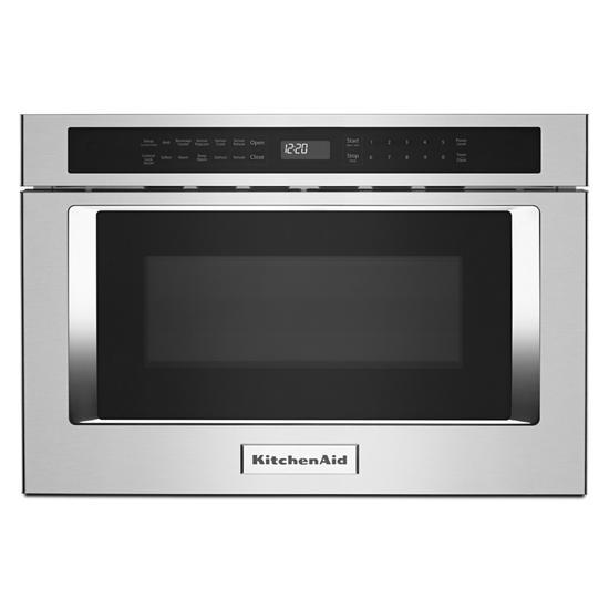 "KitchenAid 24"" Under-Counter Microwave Oven Drawer"