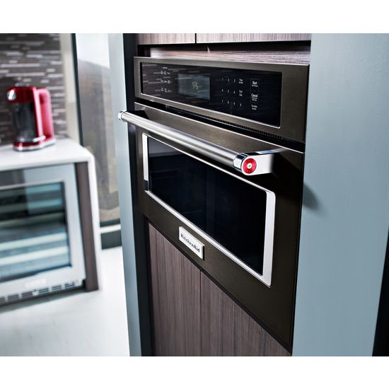 "Model: KMBP100EBS | KitchenAid 30"" Built In Microwave Oven with Convection Cooking"
