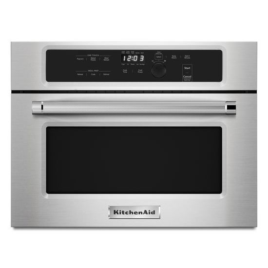 "Model: KMBS104ESS | KitchenAid 24"" Built In Microwave Oven with 1000 Watt Cooking"