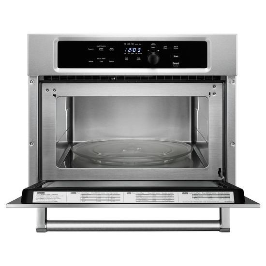 "KitchenAid 24"" Built In Microwave Oven with 1000 Watt Cooking"