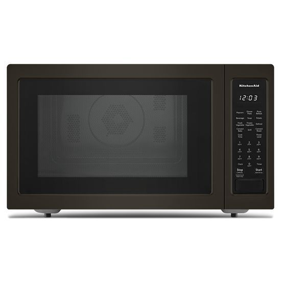 "KitchenAid 21 3/4"" Countertop Convection Microwave Oven with PrintShield™ Finish - 1000 Watt"