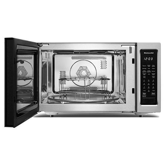"Model: KMCC5015GSS | KitchenAid 21 3/4"" Countertop Convection Microwave Oven - 1000 Watt"