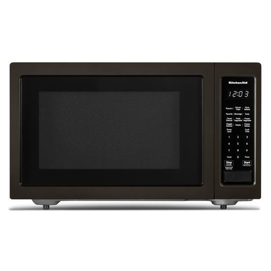 "KitchenAid 21 3/4"" Countertop Microwave Oven with PrintShield™ Finish - 1200 Watt"