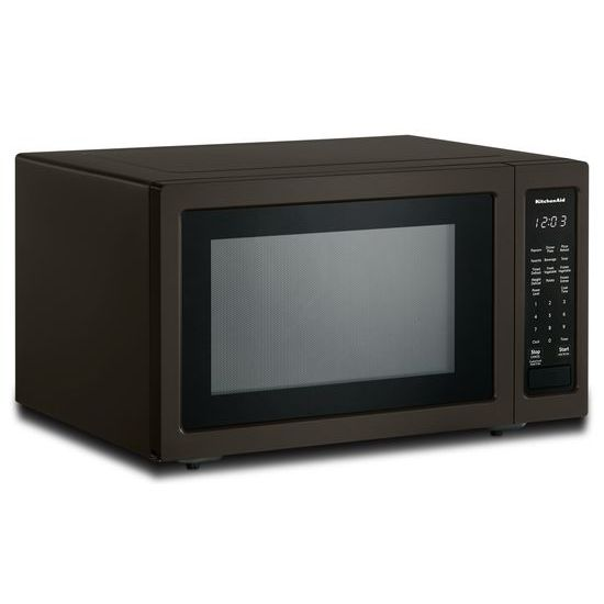 "Model: KMCS1016GBS | KitchenAid 21 3/4"" Countertop Microwave Oven with PrintShield™ Finish - 1200 Watt"