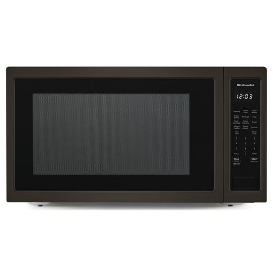 "KitchenAid 24"" Countertop Microwave Oven with PrintShield™ Finish - 1200 Watt"