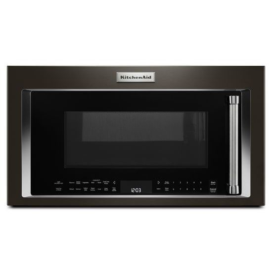Model: KMHC319EBS | KitchenAid 1000-Watt Convection Microwave Hood Combination