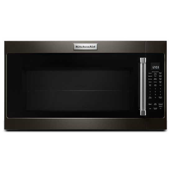 "Model: KMHS120EBS | KitchenAid 30"" 1000-Watt Microwave Hood Combination"