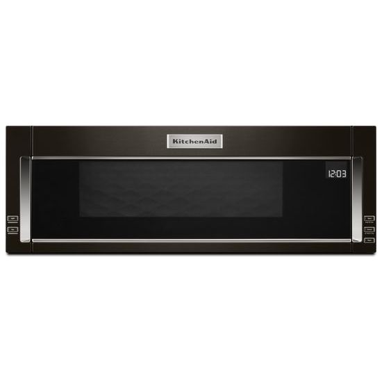 KitchenAid 1000-Watt Low Profile Microwave Hood Combination with PrintShield™ Finish