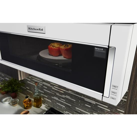 Model: KMLS311HWH | 1000-Watt Low Profile Microwave Hood Combination