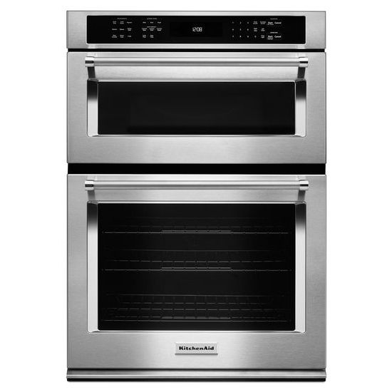 "KitchenAid 30"" Combination Wall Oven with Even-Heat™  True Convection (Lower Oven)"