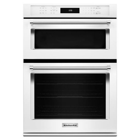 "KitchenAid 27"" Combination Wall Oven with Even-Heat™  True Convection (lower oven)"