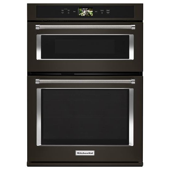 "KitchenAid Smart Oven+ 30"" Combination Oven with Powered Attachments and PrintShield™ Finish"