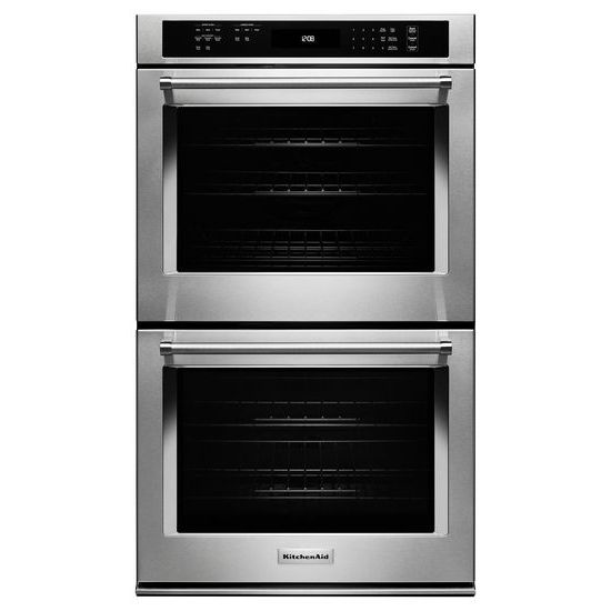 "KitchenAid 27"" Double Wall Oven with Even-Heat™  True Convection (Upper Oven)"