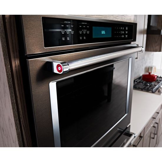 Kitchenaid Kode500ebs 30 Double Wall Oven With Even Heat True Convection Kode500ebs Snyder Diamond