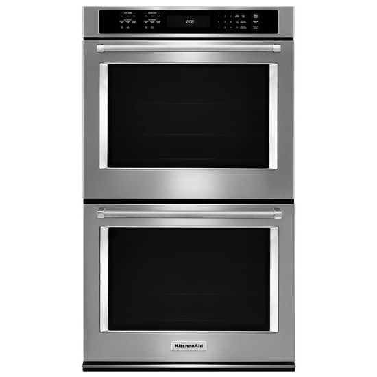 "KitchenAid 30"" Double Wall Oven with Even-Heat™ True Convection"