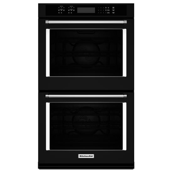 "Model: KODE507EBL | KitchenAid 27"" Double Wall Oven with Even-Heat™  True Convection"