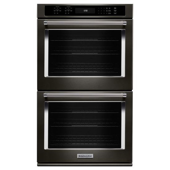 "Model: KODE507EBS | KitchenAid 27"" Double Wall Oven with Even-Heat™  True Convection"