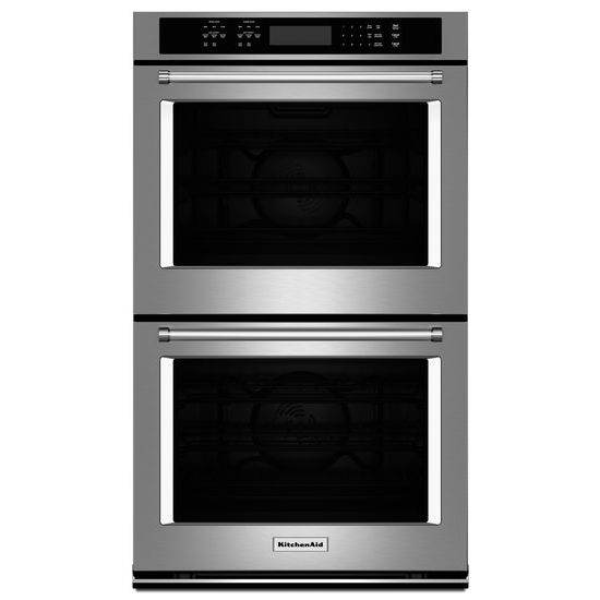 "Model: KODE507ESS | KitchenAid 27"" Double Wall Oven with Even-Heat™  True Convection"